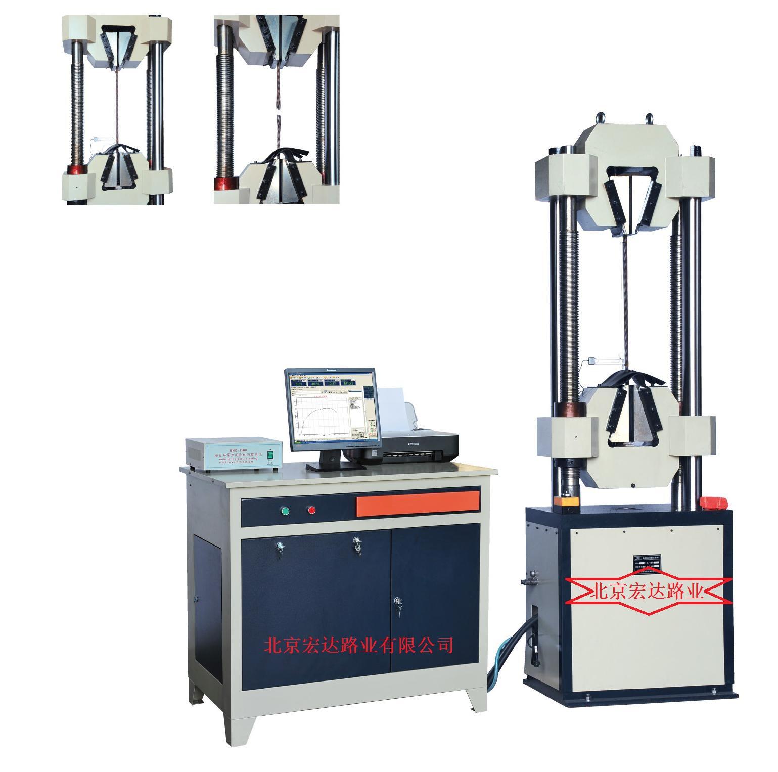 GWA-600B微机电液伺服钢绞线专用试验机结构