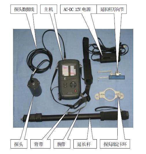 HD-FK(B) 裂缝宽度监测仪结构